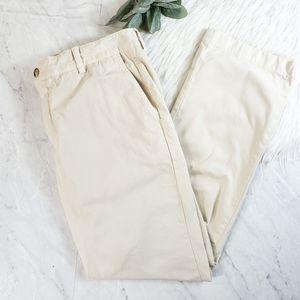 Vineyard Vines 34x30 Cream Slim Fit Chino Pants
